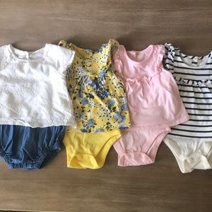 6-12 month Old Navy Baby Girl Bundle